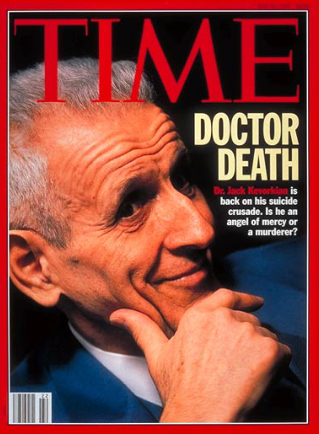 Image result for Dr. Jack Kevorkian was convicted of second-degree murder