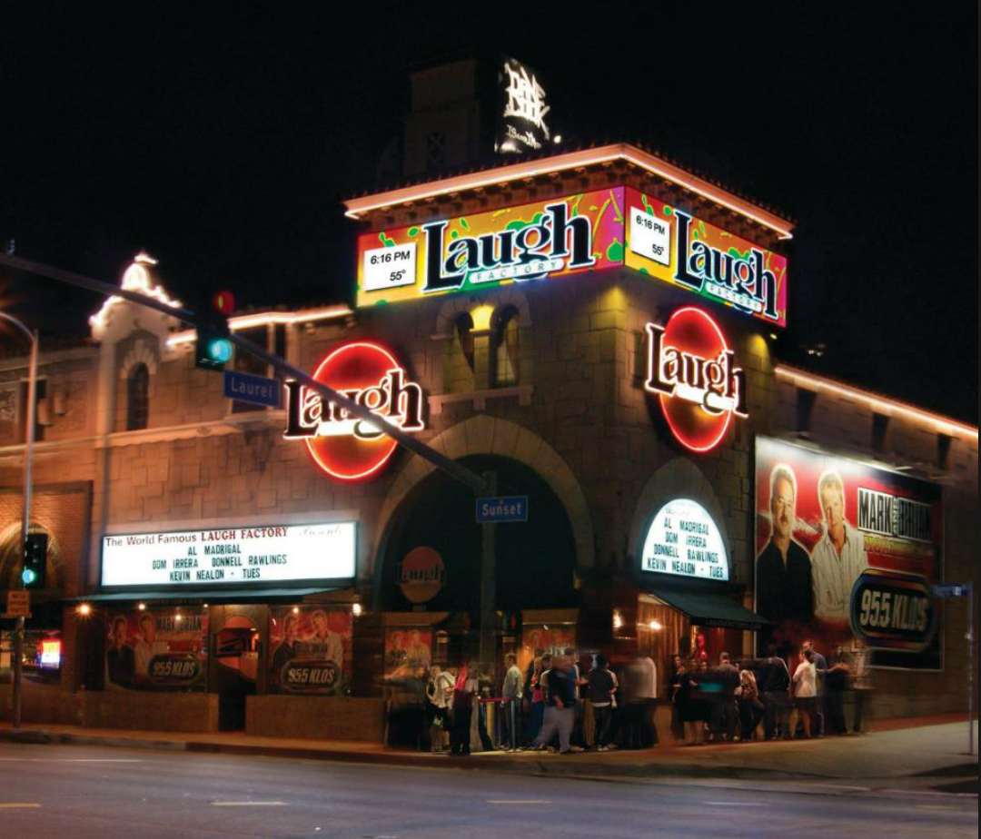 Who Performing Laugh Factory Tonight
