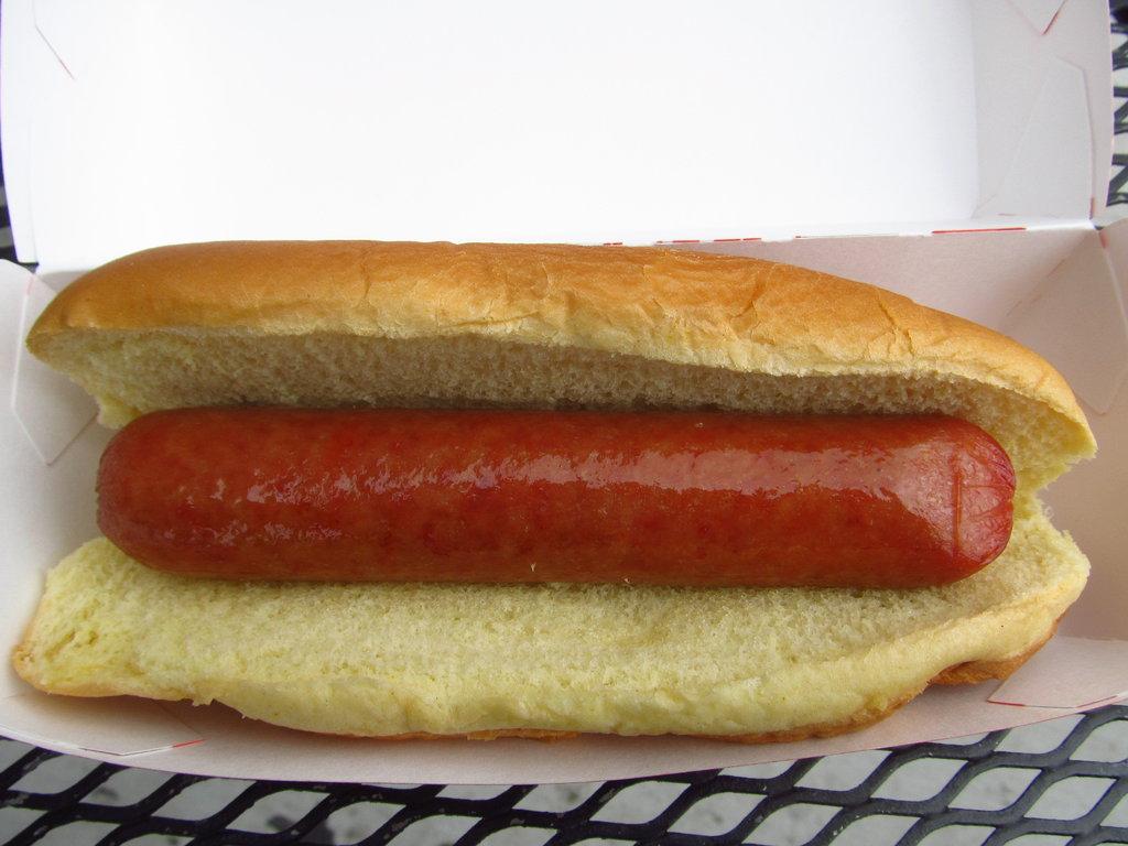 Quarter Pound Hot Dog